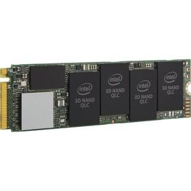 Накопитель SSD Intel Original 660P M.2 2280 SSDPEKNW010T8X1, 1Тб, PCI-E x4