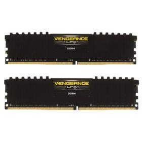 Память DDR4 Corsair CMK16GX4M2B3200C16, 8Гбx2, 3200 МГц, PC4-25600, DIMM