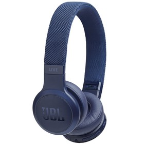 Наушники JBL LIVE400BT, накладные, беспроводные, Bluetooth 4.2, синие