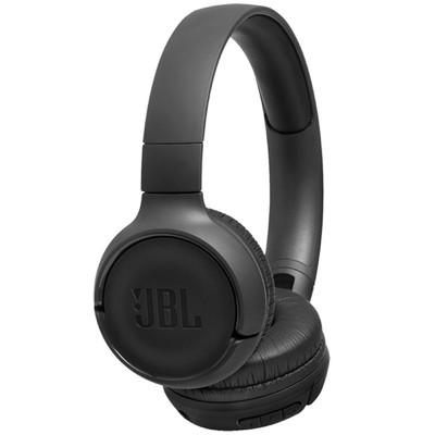 Наушники JBL T500BT, накладные, беспроводные, Bluetooth 4.1, черные - Фото 1