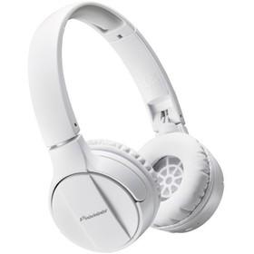 Наушники Pioneer SE-MJ553BT-W, накладные, беспроводные, Bluetooth 3.0, белые