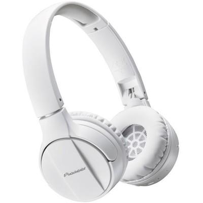 Наушники Pioneer SE-MJ553BT-W, накладные, беспроводные, Bluetooth 3.0, белые - Фото 1
