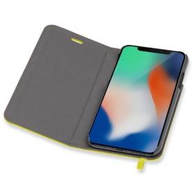 Чехол флип-кейс Moleskine для Apple iPhone X IPHXXX, желтый (MO2CBPXM18)