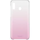 Чехол клип-кейс Samsung для Samsung Galaxy A20 Gradation Cover, розовый (EF-AA205CPEGRU)