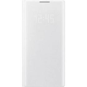 Чехол флип-кейс для Samsung Galaxy Note 10 LED View Cover, белый (EF-NN970PWEGRU)