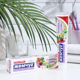 Зубная паста Новый Жемчуг Лечебные травы 50 мл