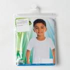 Футболка для мальчика, цвет белый, рост 122-128 см (6) - Фото 4