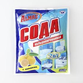 Сода кальцинированная Almaz, лимон, 350 гр