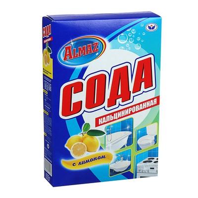 Сода кальцинированная Almaz, лимон, 600 гр - Фото 1