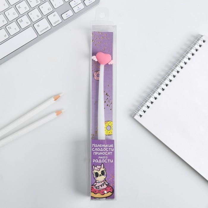 """Гибкая ручка """"Маленькие сладости приносят много радости"""""""