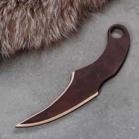 """Сувенирное деревянное оружие """"Керамбит"""", 22 см, массив бука"""