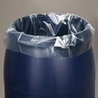 Мешок, вкладыш в бочку, 100 литров, 63 ? 105 см, 100 мкм