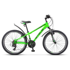 Велосипед 24' Stels Navigator-400 V' F010, цвет зелёный, размер 12' Ош