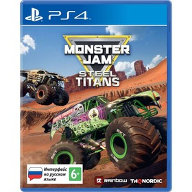 Игра для Sony Playstation 4: Monster Jam Steel Titans