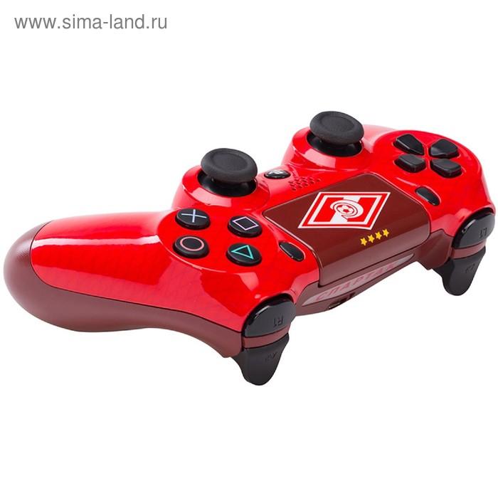 """Беспроводной геймпад для Sony Play Station 4 DualShock 4 Спартак """"Гладиатор"""""""