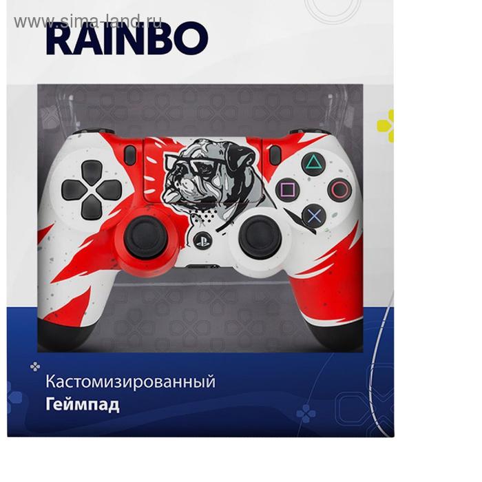 """Беспроводной геймпад для Sony Play Station 4 DualShock 4 """"Бульдог"""""""