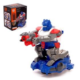 Робот «Стрелок», с проектором, звуковые эффекты, цвета МИКС Ош