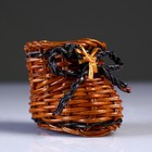 Сувенир «Ботинок», 4,5×7×5,5 см, лоза
