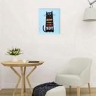 """Картина на подрамнике """"Дом там где кот"""" 40х50 см - Фото 4"""