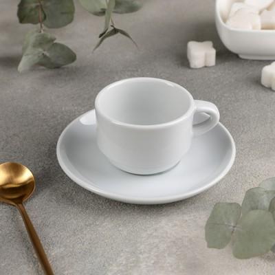 Кофейная пара «Дельта», 90 мл - Фото 1