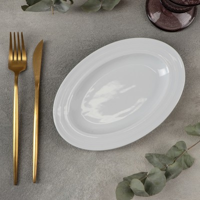Тарелка овальная «Лизбон», 21×14 см - Фото 1