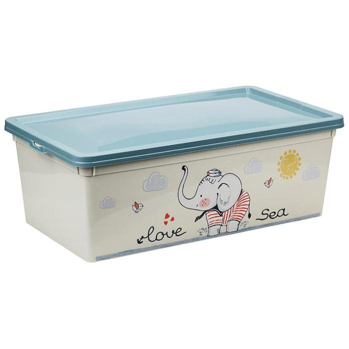 Ящик для игрушек Слоник, 5,5 л
