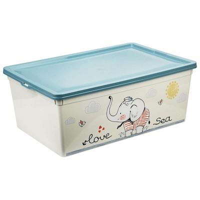 Ящик для игрушек «Слоник», 10 л - Фото 1