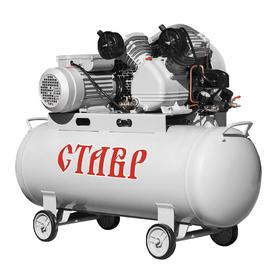 Компрессор масляный Ставр КМР-100/2200, ременной, 2200 Вт, 100 л, 310 л/мин, 8 Атм