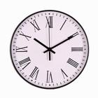 """Часы настенные, серия: Классика, """"Эдит"""", плавный ход, 30 х 30 см, d=30 см - Фото 1"""