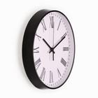 """Часы настенные, серия: Классика, """"Эдит"""", плавный ход, 30 х 30 см, d=30 см - Фото 2"""