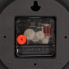 """Часы настенные, серия: Классика, """"Эдит"""", плавный ход, 30 х 30 см, d=30 см - Фото 3"""