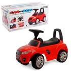 Толокар-автомобиль, красный, со звуком и цветом