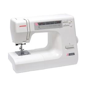 Швейная машина Janome 7518 A, 85 Вт, 18 операций, автомат, реверс, белая, без чехла