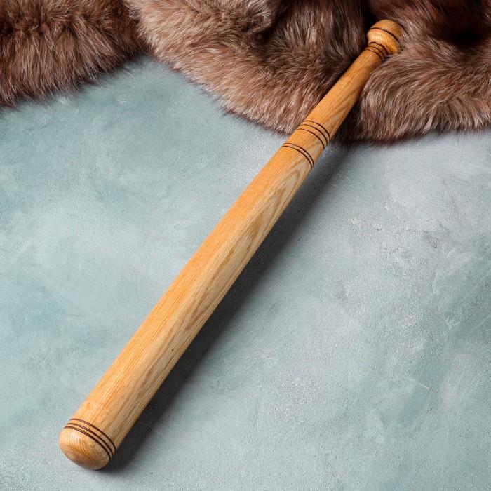 Бита деревянная сувенирная, 62 см, массив дуба