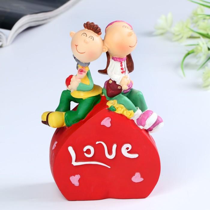 """Копилка """"Love/Kiss me"""" 11,5х7х16,5 см микс"""