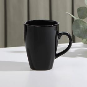 Кружка Доляна «Пастель», 280 мл, цвет чёрный