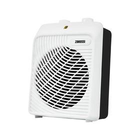 Тепловентилятор Zanussi ZFH/S-204, напольный, спиральный, 2000 Вт, до 42 м2, бело-чёрный Ош