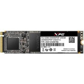 Накопитель SSD A-Data XPG SX6000 Pro M.2 2280 ASX6000PNP-256GT-C, 256Гб, PCI-E x4