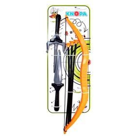 Набор оружия «Ниндзя», кинжал, саи, лук, 3 стрелы Ош