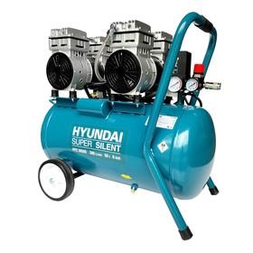 Компрессор Hyundai HYC 3050S, 2 кВт, 300 л/мин, ресивер 50 л, регулировка давление автомат