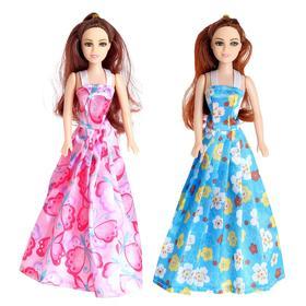 Кукла модель «Рита» в платье, МИКС Ош