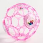 Развивающий мячик с погремушкой «Гремящий Oball» от +0 мес., цвет МИКС