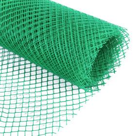 Сетка садовая, 1,5 × 10 м, ячейка 1,5 × 1,5 см, зелёная, Greengo Ош