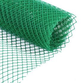Сетка садовая, 1 × 5 м, ячейка 1,5 × 1,5 см, зелёная, Greengo Ош