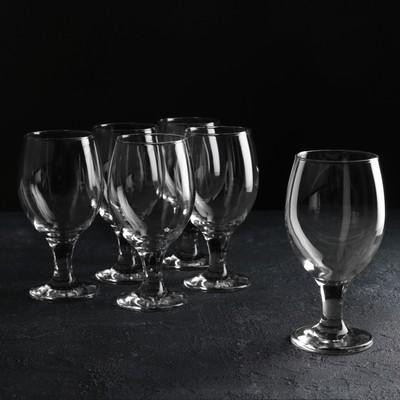 Набор бокалов для пива 6 шт «Мисс», 400 мл, 6,9×16 см