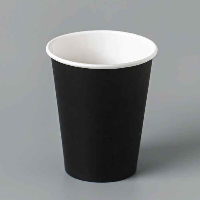 Стакан Чёрный 160 мл, диаметр 70 мм