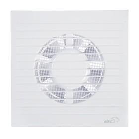 Вентилятор вытяжной ERA E 100 S, 165х165 мм, d=100 мм, 220 В Ош
