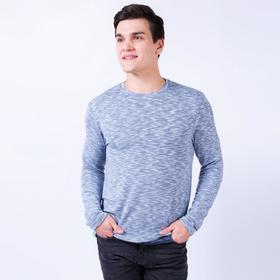 Джемпер мужской, цвет синий, размер 50 Ош