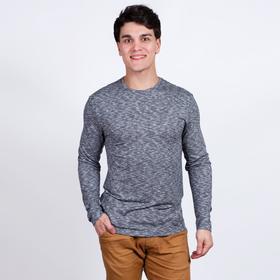 Джемпер мужской, цвет серый, размер 52 Ош