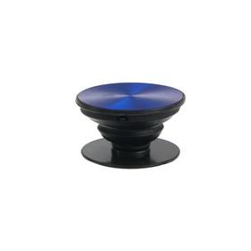Попсокет Popsockets PS8, держатель для телефона на палец, синий Ош